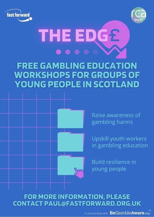 Free gambling education workshops