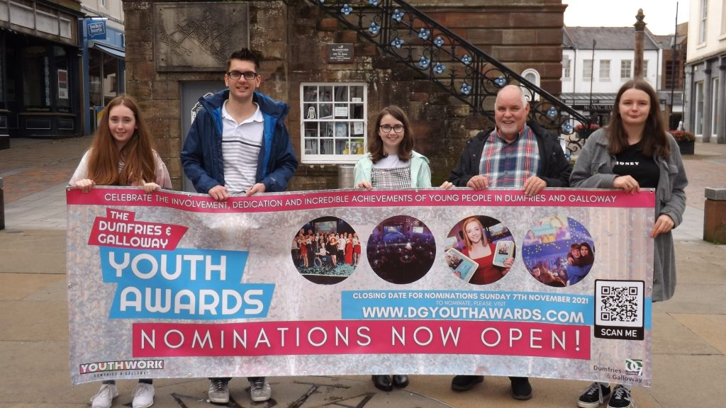 Launch of Youth Awards.