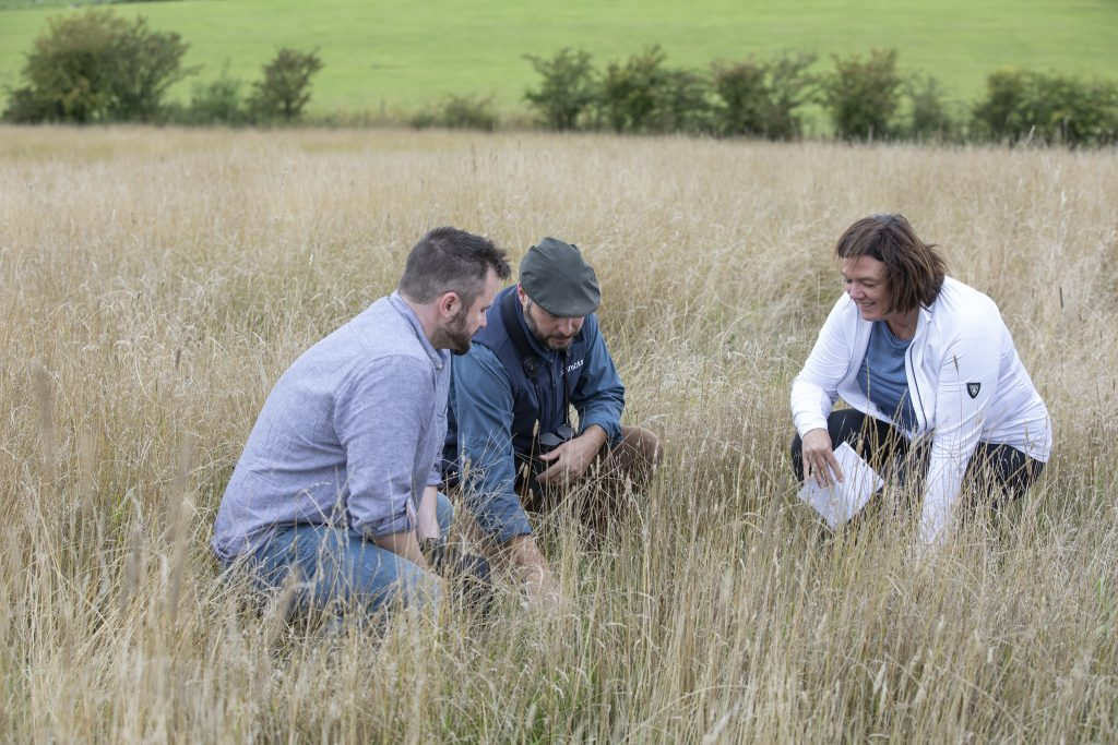 HSBC UK staff saw how biodiversity would be improved by the Threave Landscape Restoration Project