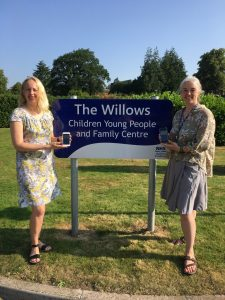 Amanda Johnstone, Health Visitor, and Wendy Brown, Health Visiting Assistant Practitioner, of NHS Dumfries and Galloway.