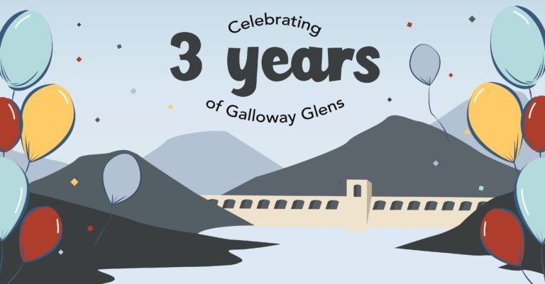 3 years of Galloway Glens Scheme.