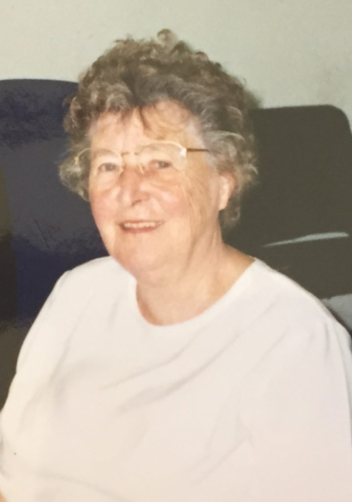 Food Train's founder, the late Jean Mundell MBE.