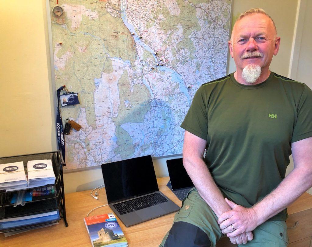 Ken Scott, the Loch Ken Ranger.