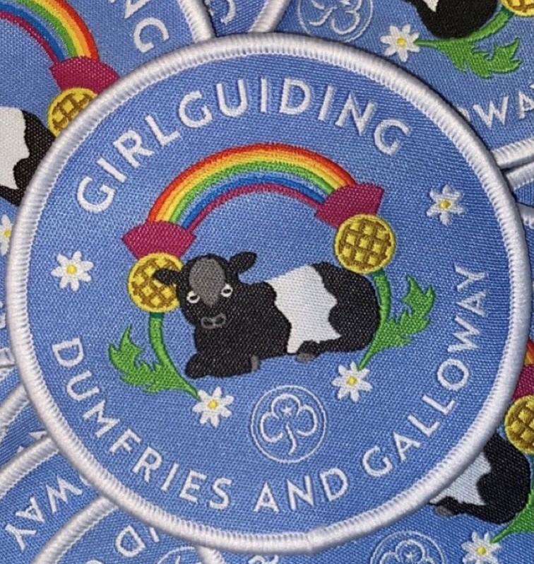 Girlguiding Dumfries and Galloway badge