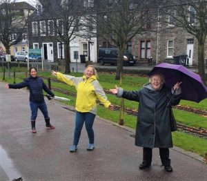 Volunteers have helped ensure walks have taken place across the region.