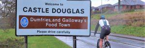 Castle Douglas will welcome the biking Tour Series.