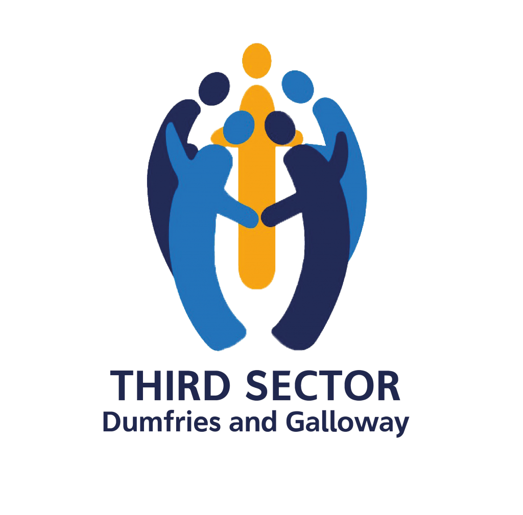 Square logo for Third Sector Dumfries and Galloway