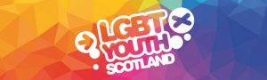 LGBT Youth Scotland logo.